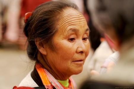 Portrait photo d'une femme chinoise