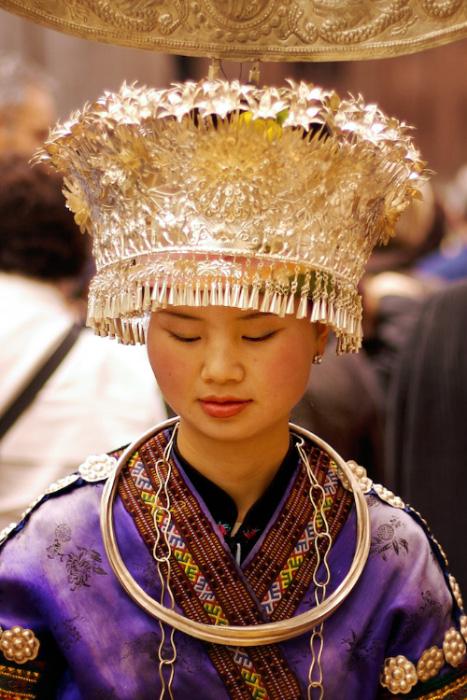 Portrait photo d'une jeune femme chinoise