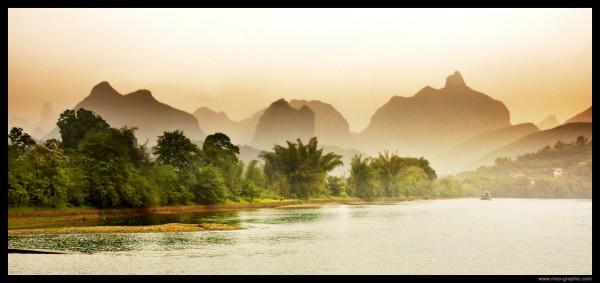 Photo de paysage (Rivière Li - Chine)