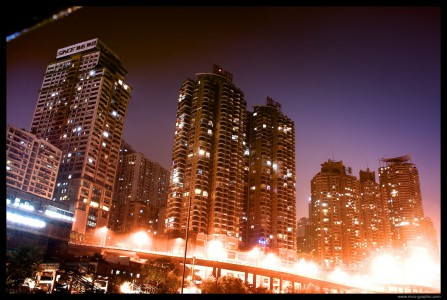 Chongqing by night photo