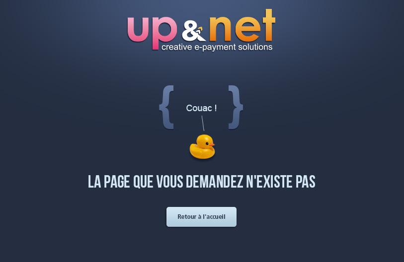 Webdesign de page 404