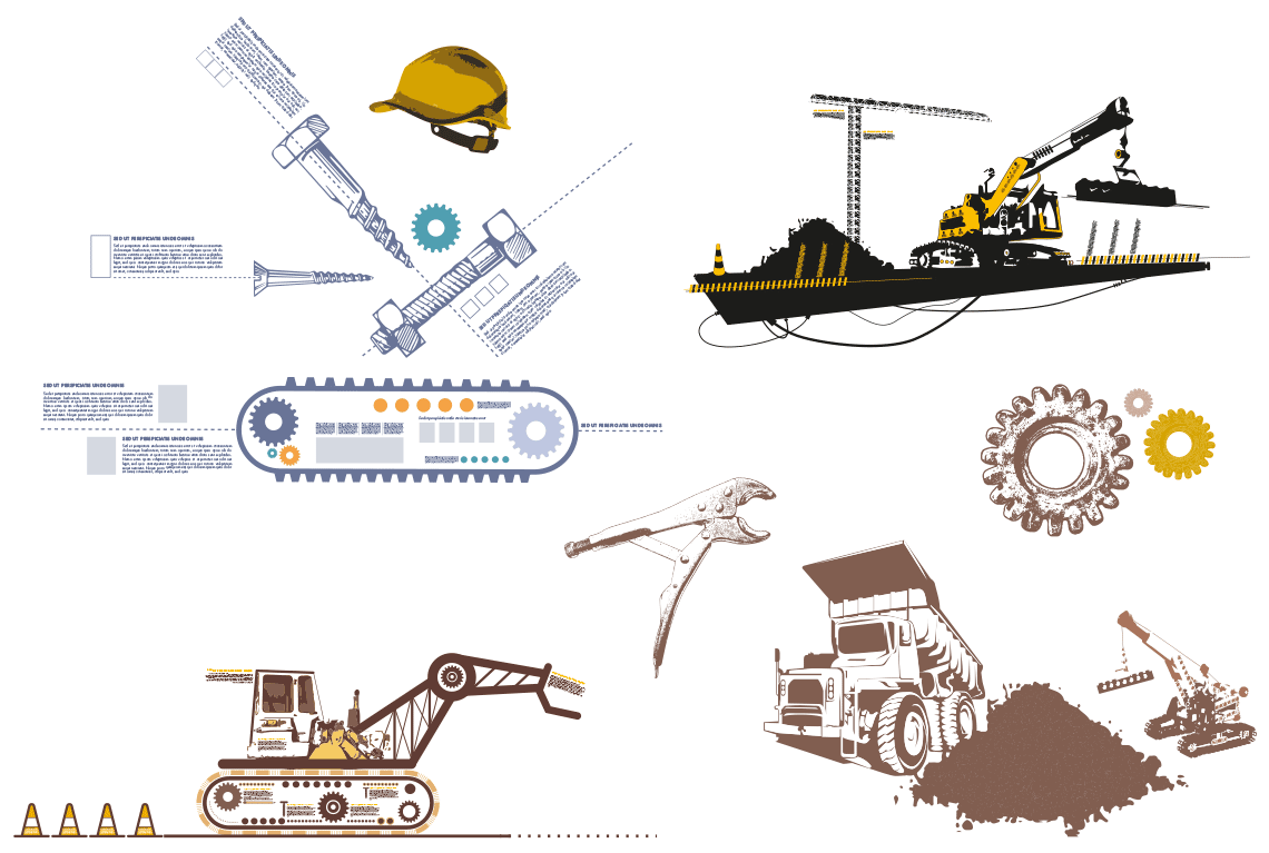 Design researches: trying to convey construction work for a better organization