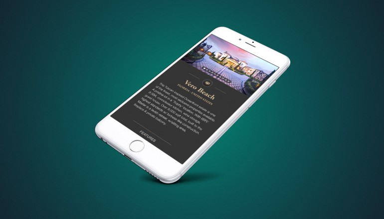 Luxury Real Estate UI Design