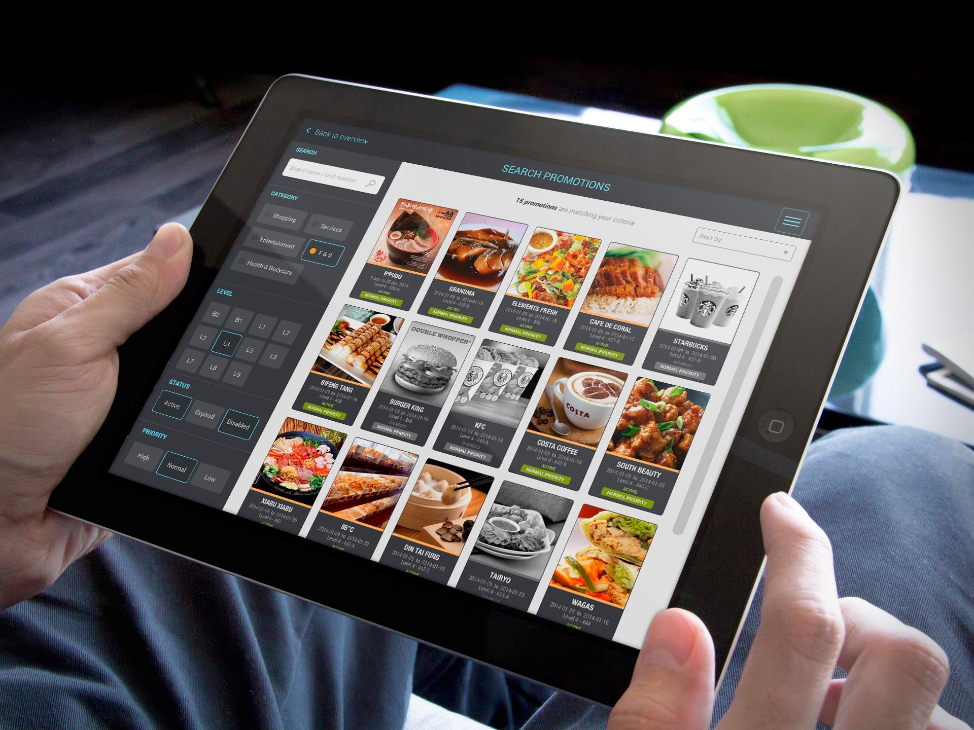 iPad App UI Design